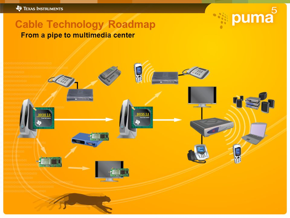 Cable Technology Roadmap From a pipe to multimedia center