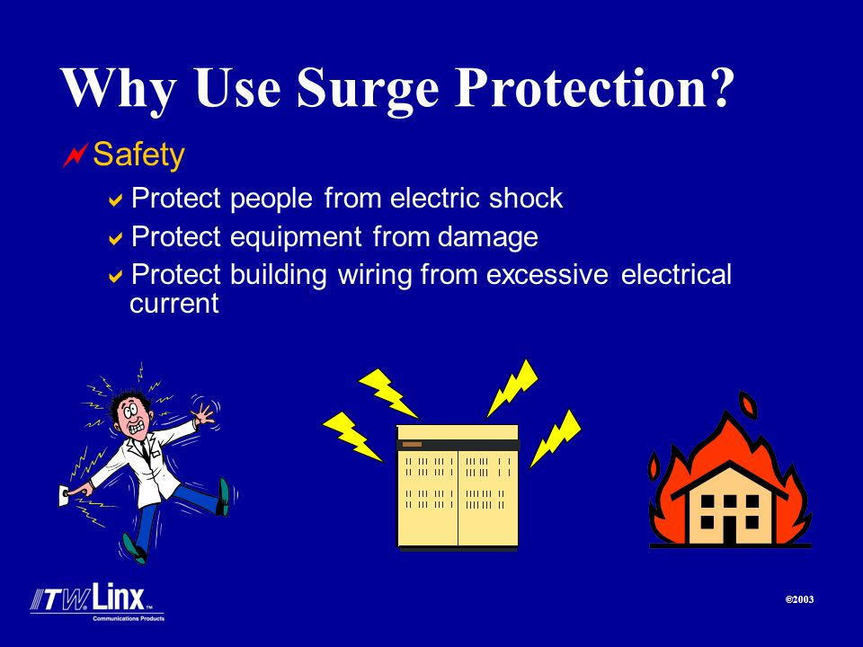 ©2003 Why Use Surge Protection.