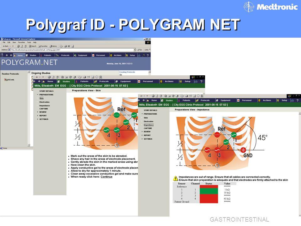 FUNCTIONAL DIAGNOSTICS GASTROINTESTINAL Polygraf ID - POLYGRAM NET