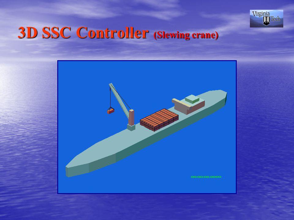 3D SSC Controller (Slewing crane)