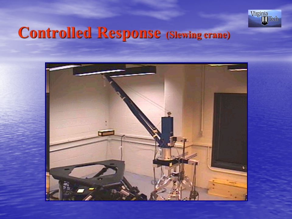 Controlled Response (Slewing crane)
