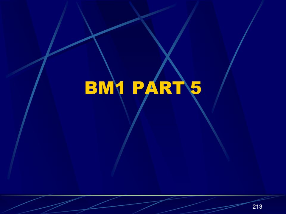 213 BM1 PART 5