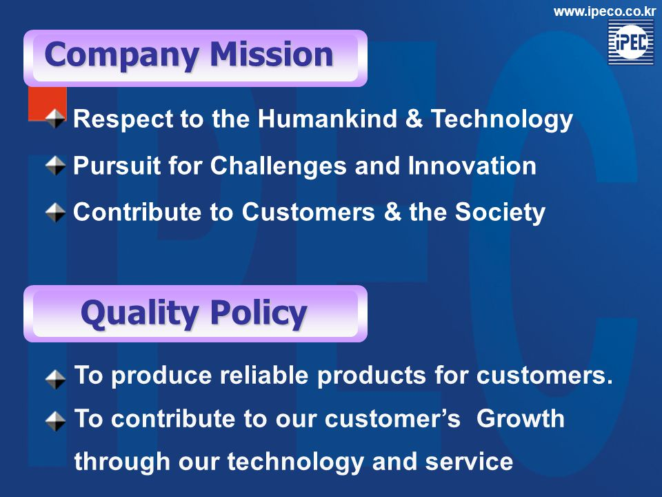 Company Overview Established on Feb.