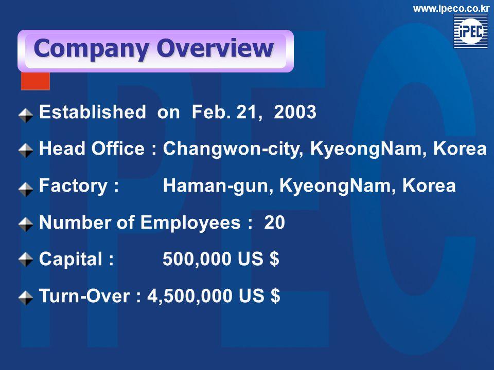 www.ipeco.co.kr Afam CCPP Control System & LTG Equip.