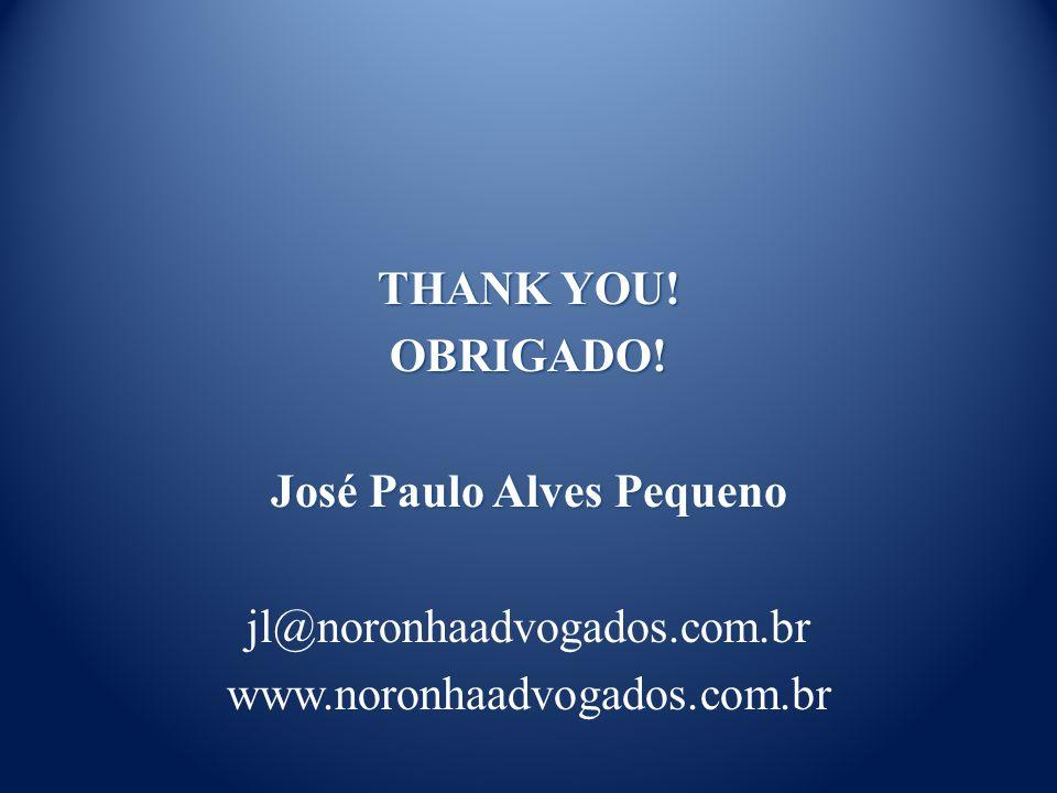 THANK YOU. OBRIGADO.