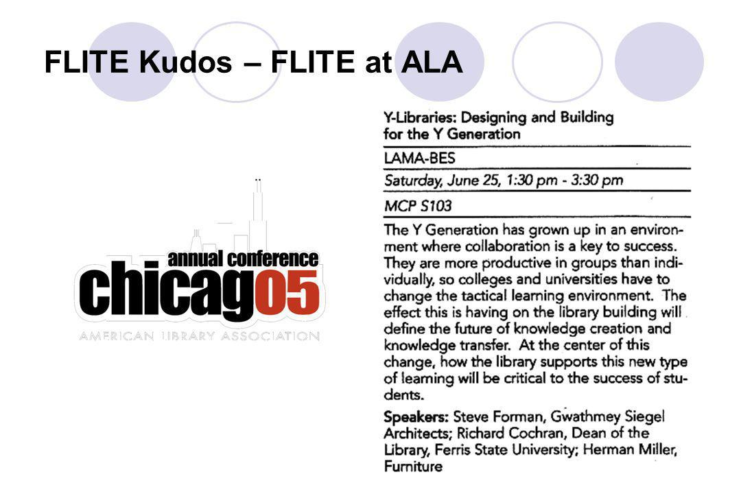 FLITE Kudos – FLITE at ALA