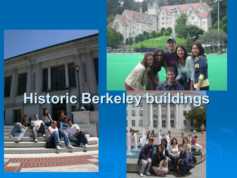Historic Berkeley buildings