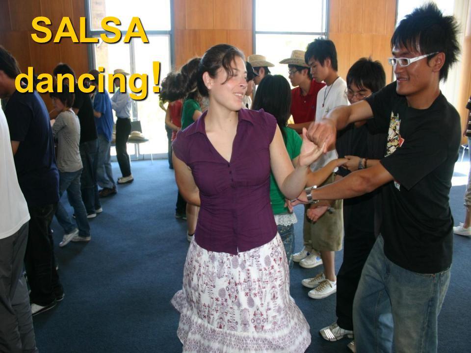 SALSA dancing !