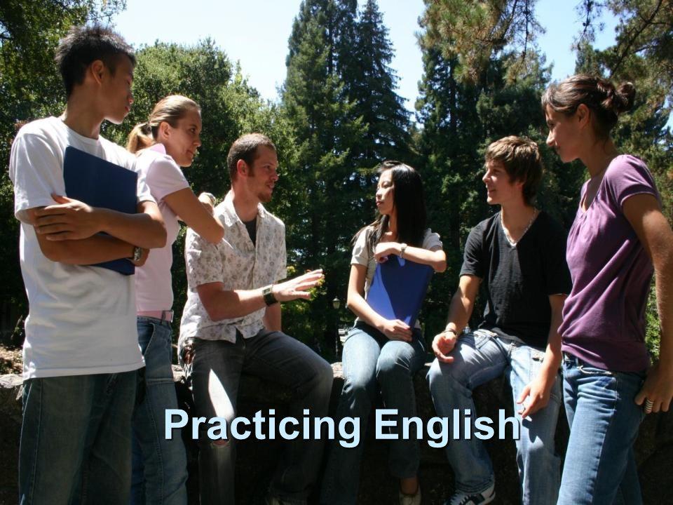 Practicing English
