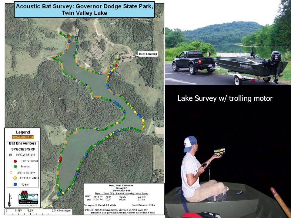 Lake Survey w/ trolling motor