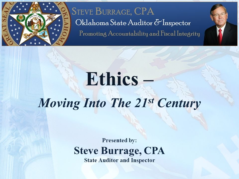 Introduction Ethics – An old-fashioned concept?