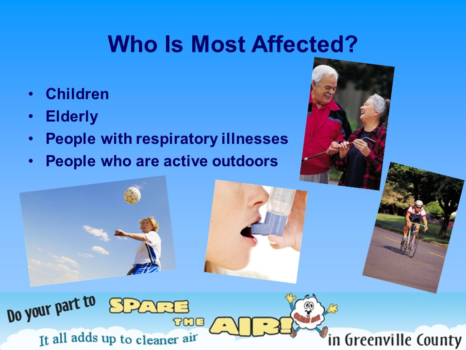 Who Is Most Affected.