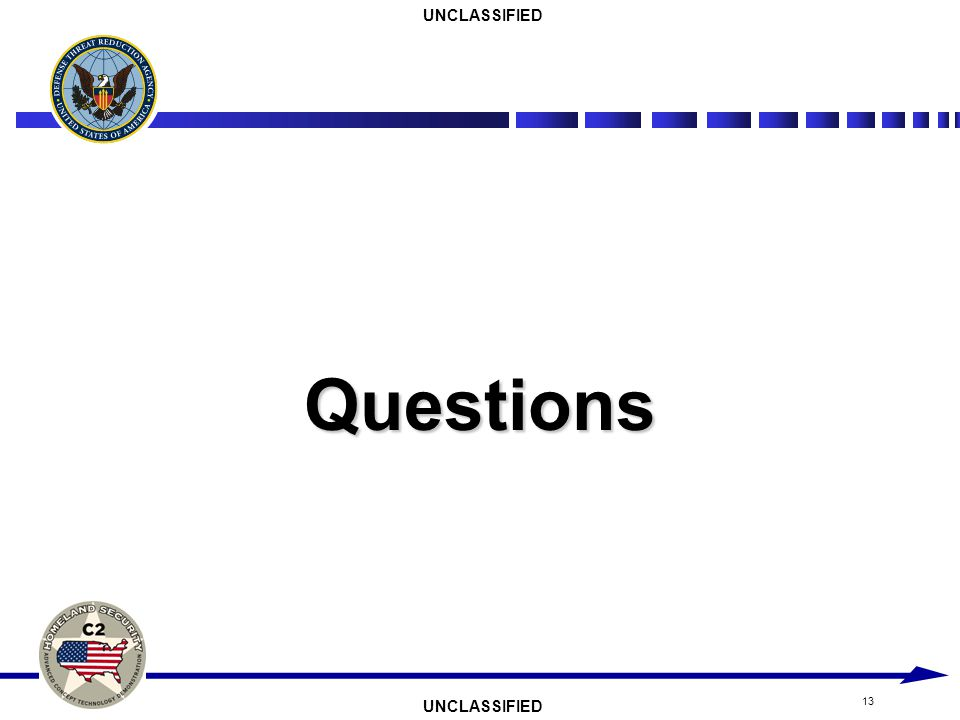 UNCLASSIFIED 13 Questions