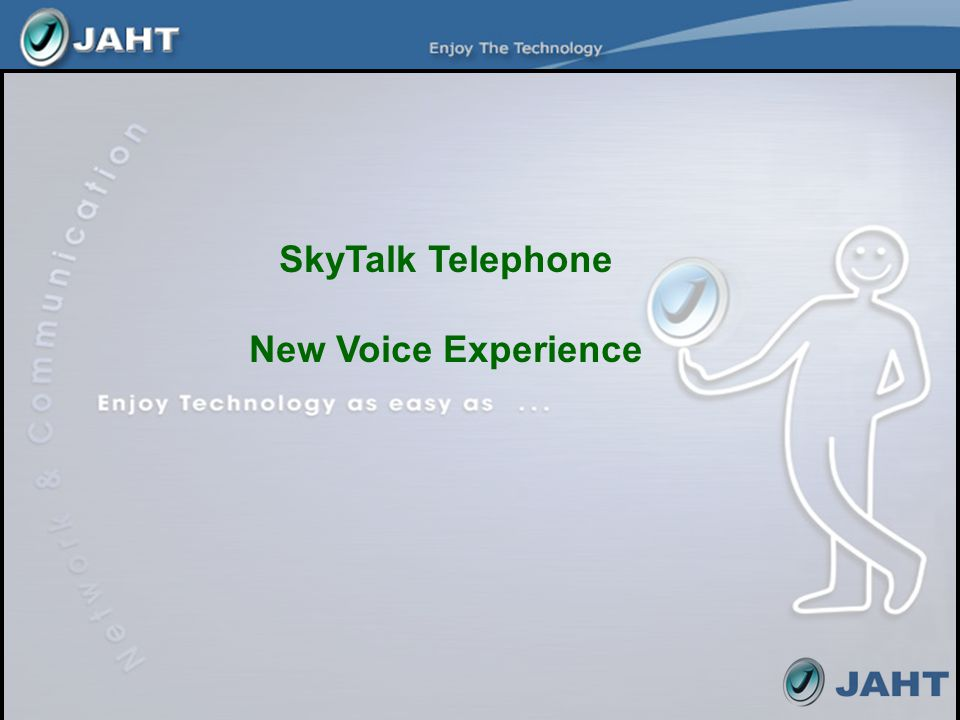 SkyTalk Telephone New Voice Experience