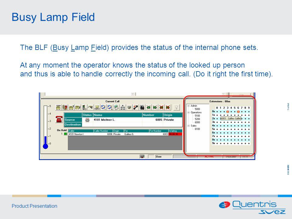 FILENAME 6 of tot Product Presentation LDAP Directory Server 2.