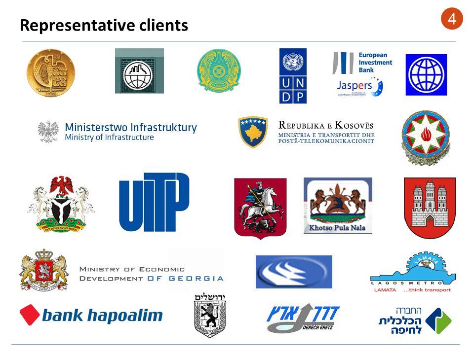 Representative clients 4