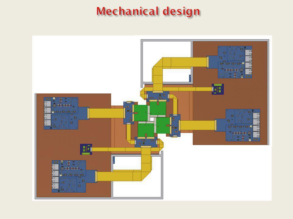 Sensor Cu heat sink CVDD 300µm R/O Flex Cable R/O