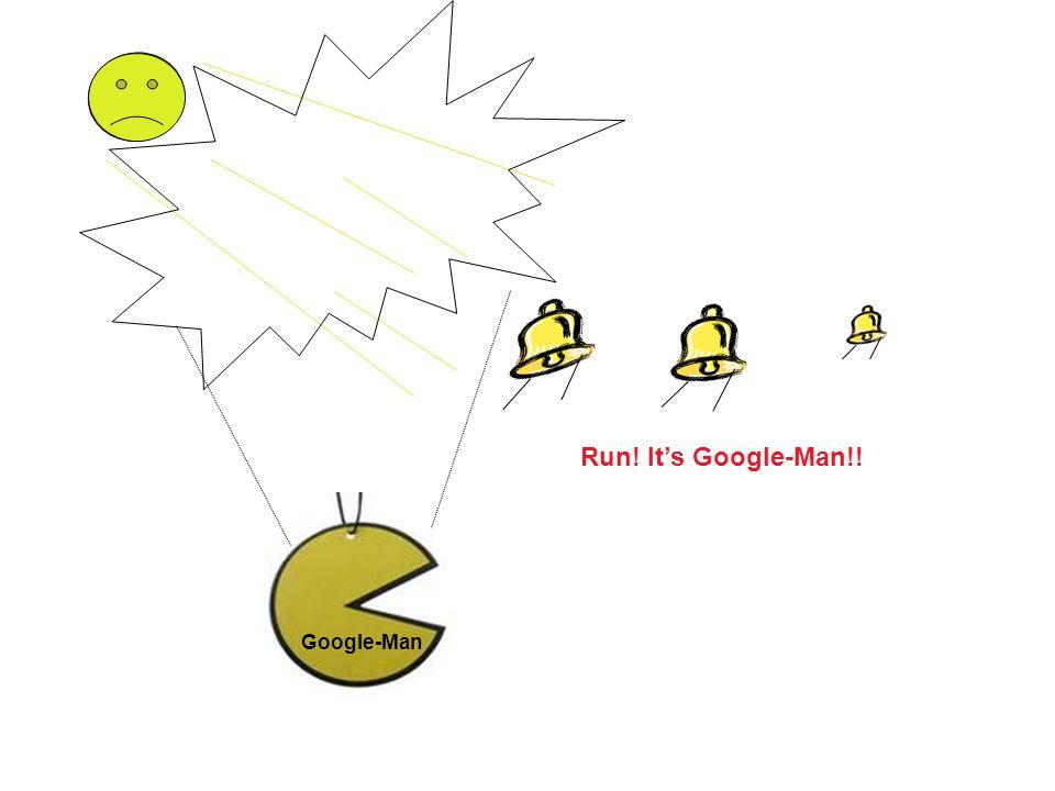 Google-Man Run! Its Google-Man!!