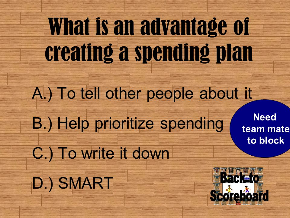 What are the benefits of tracking spending habits.