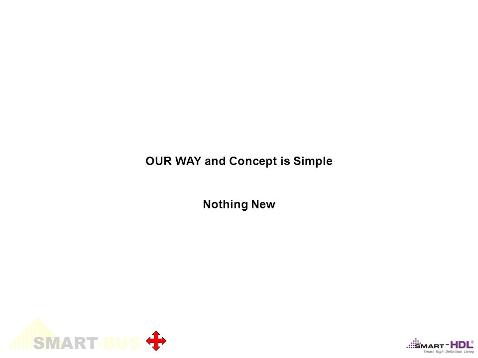 OUR WAY and Concept is Simple Nothing New