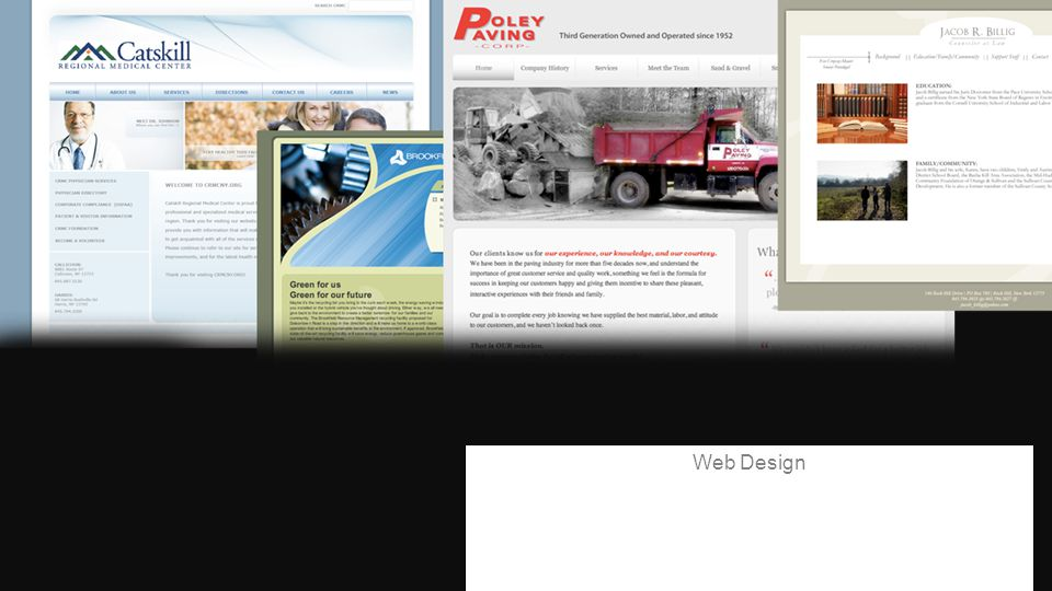 WHAT WE DO:WHAT WE DO: Web Design
