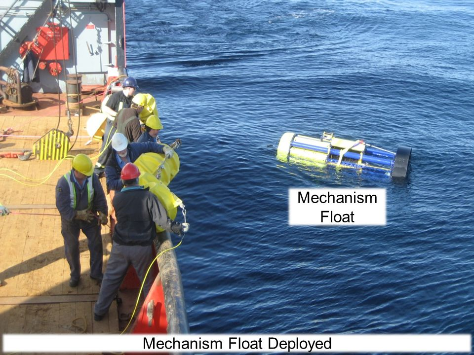Mechanism Float Mechanism Float Deployed