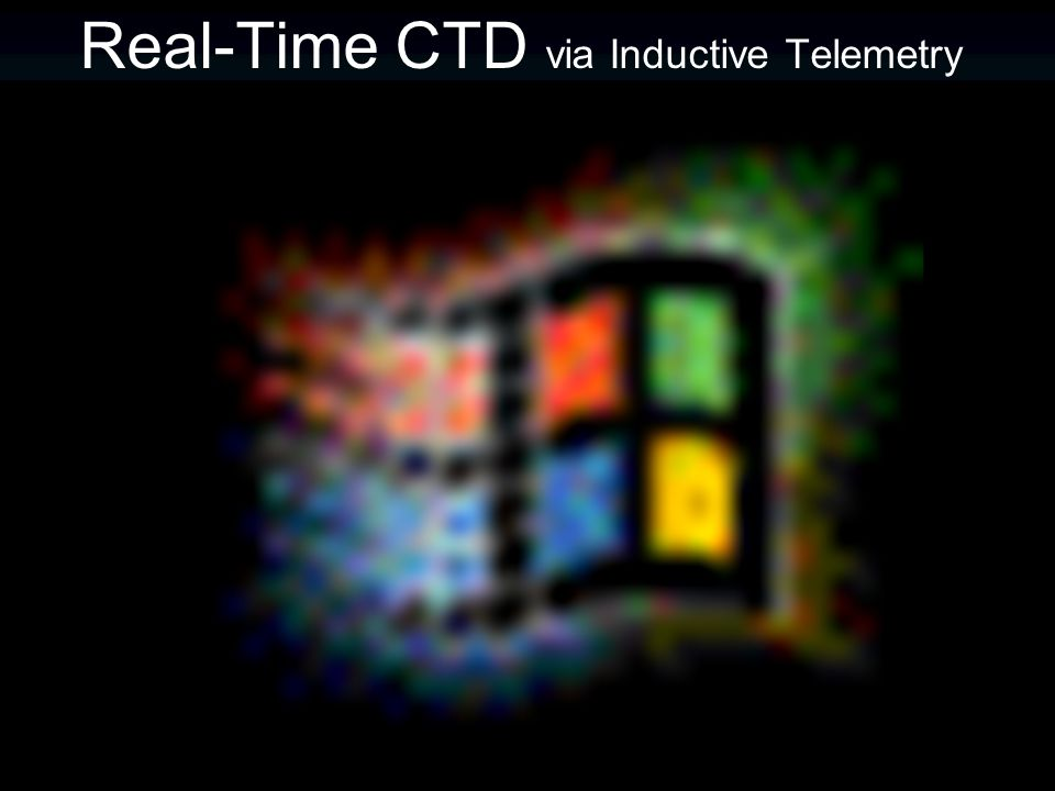 Real-Time CTD via Inductive Telemetry