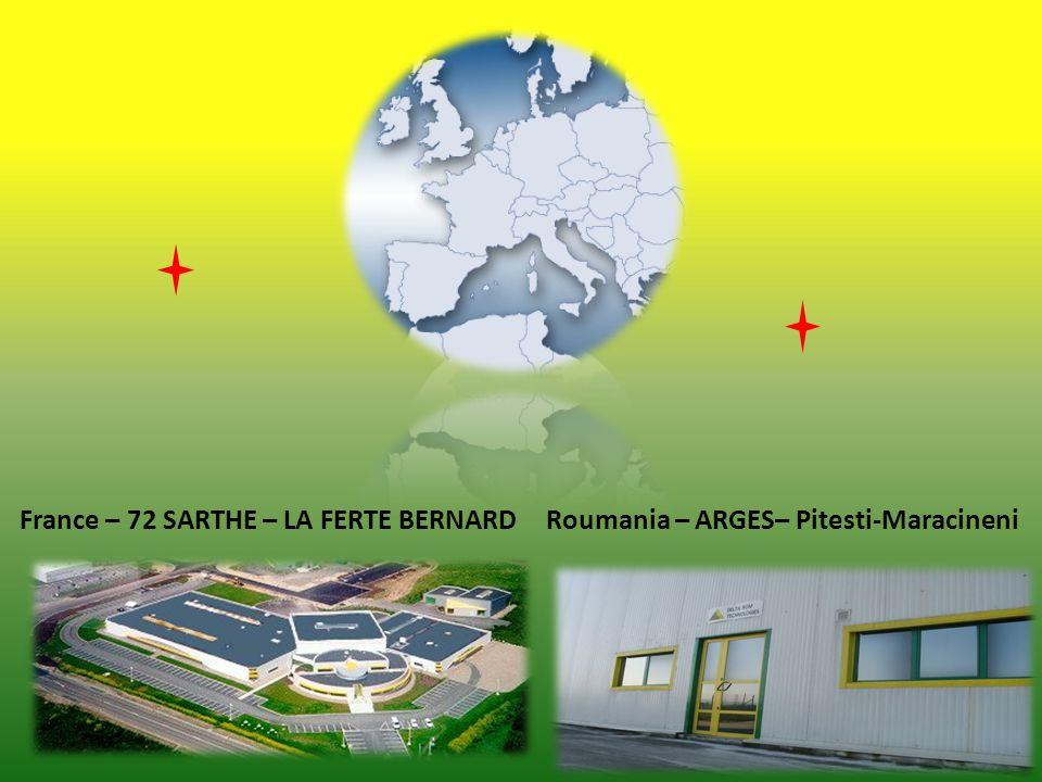 France – 72 SARTHE – LA FERTE BERNARDRoumania – ARGES– Pitesti-Maracineni