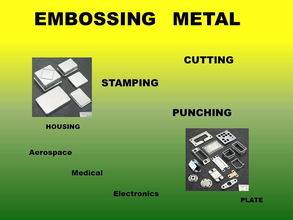EMBOSSINGMETAL PLATE HOUSING STAMPING CUTTING PUNCHING Aerospace Medical Electronics