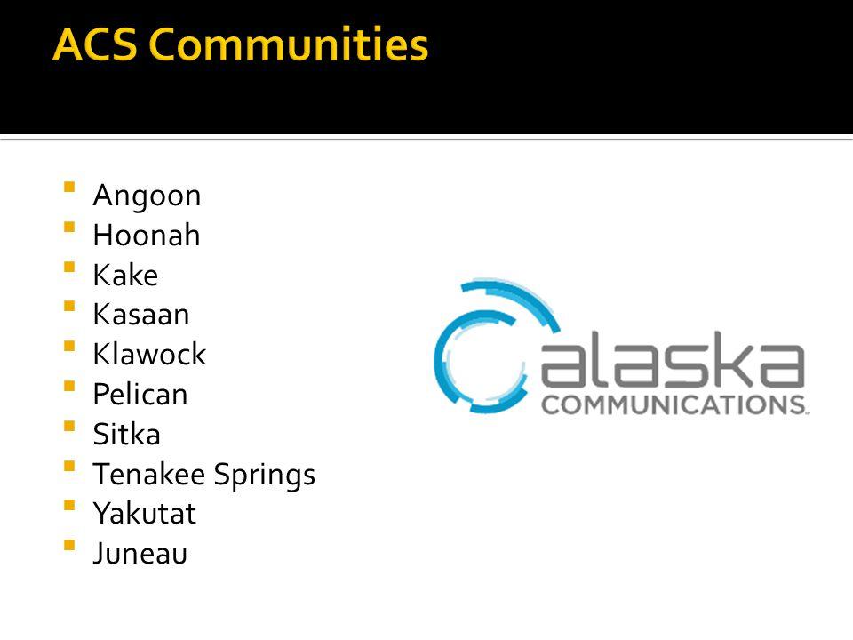 Angoon Hoonah Kake Kasaan Klawock Pelican Sitka Tenakee Springs Yakutat Juneau