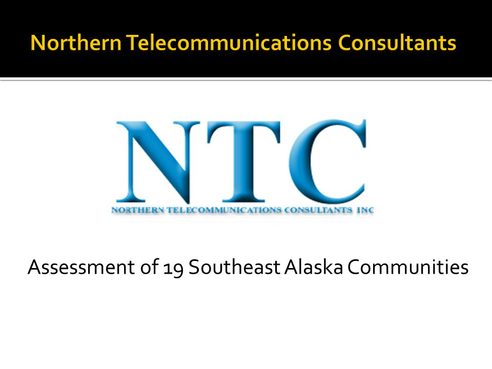 Assessment of 19 Southeast Alaska Communities