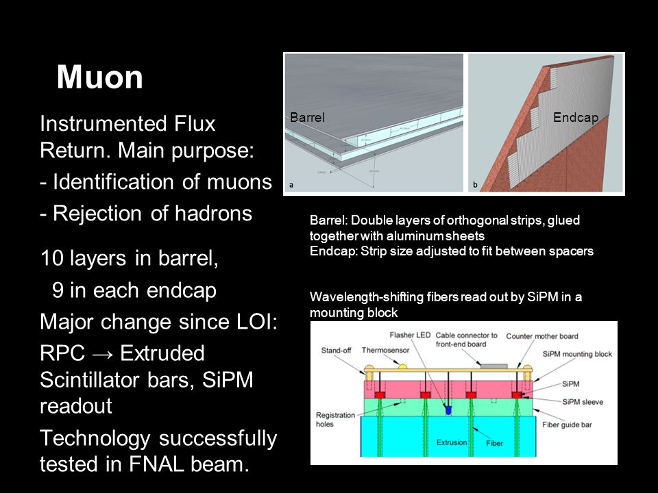Muon BarrelEndcap Instrumented Flux Return.