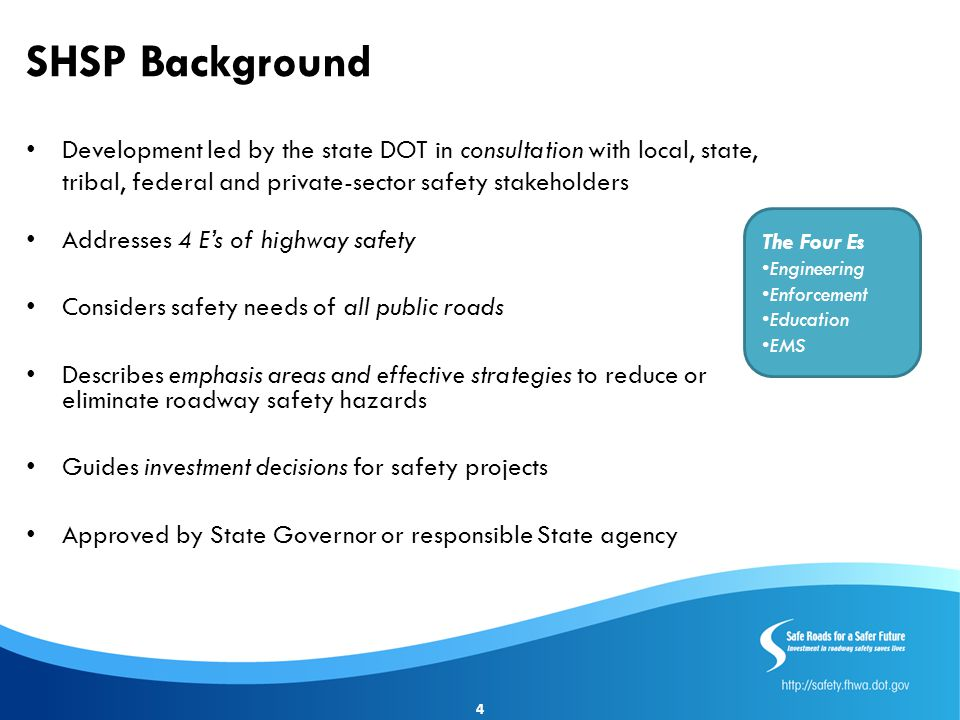 Summary Complements the State SHSP Promote safety awareness Identify Safety Issues More informed for participation in SHSP process Identify projects for safety funds 15