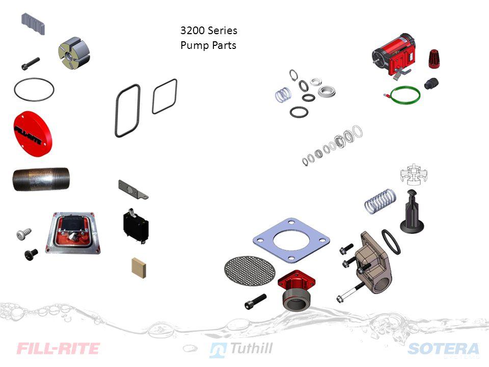 3200 Series Pump Parts