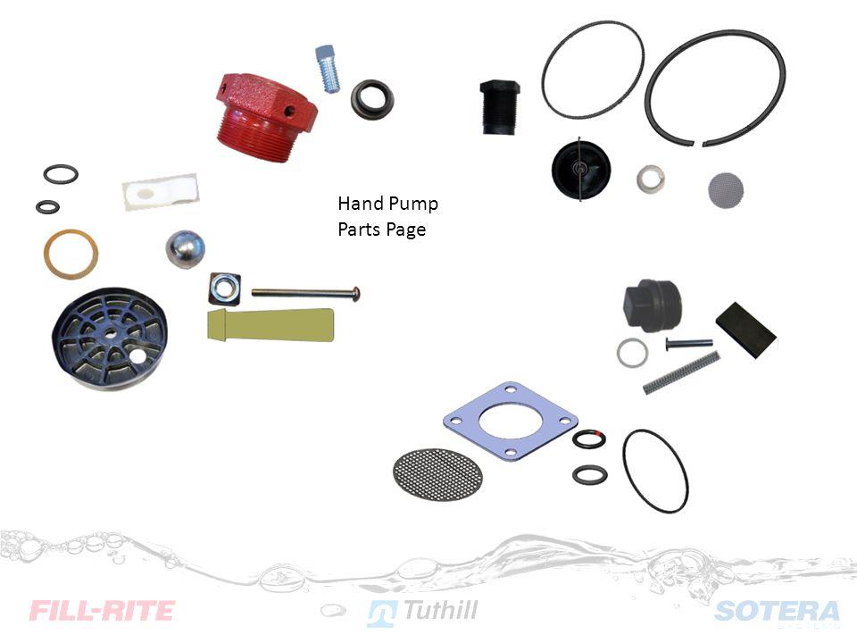 Hand Pump Parts Page