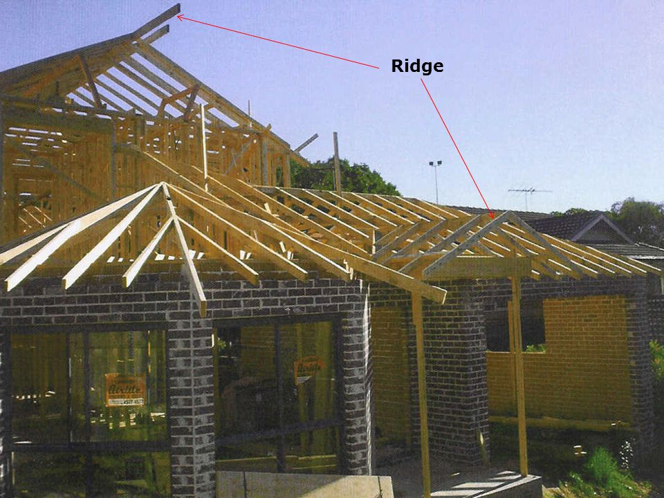 Where is strut positioned…… Placed under purlins to transfer the load either to load bearing walls or a strutting beam Three types of struts….
