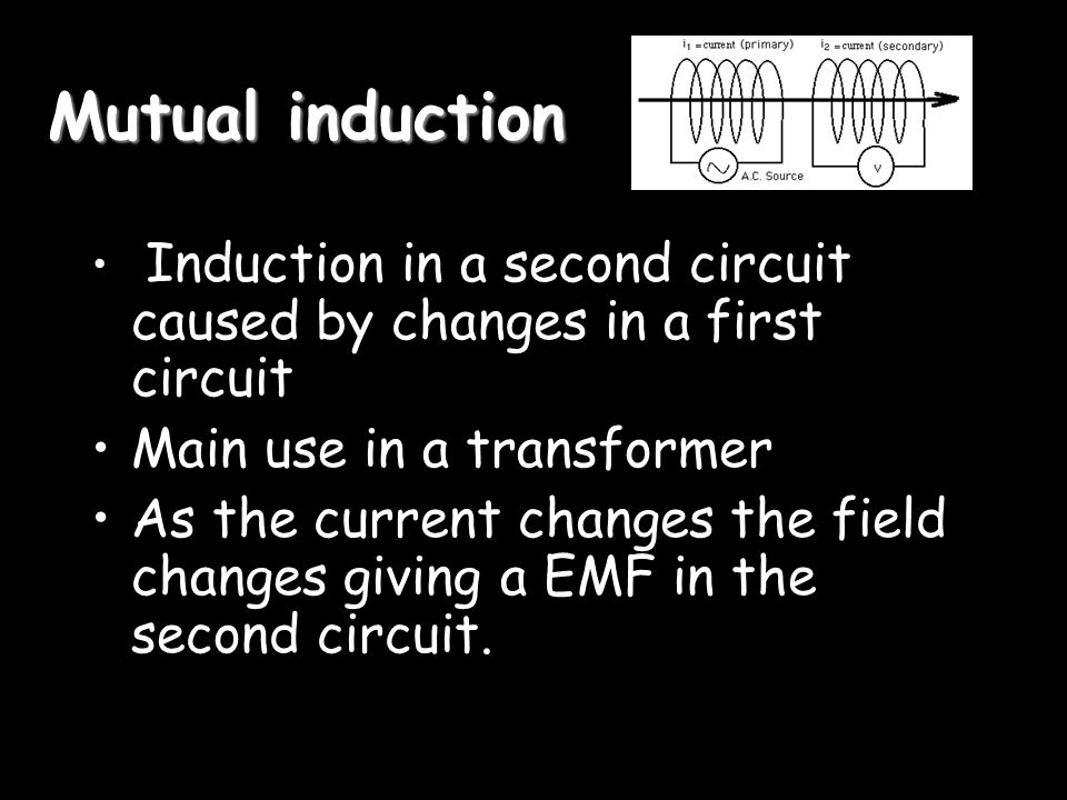 Lenzs Law The induced EMF always opposes the current/Motion You get ought for nought A version of Newton III and of energy conversion The induction always tries to stop the motion or change in the field.