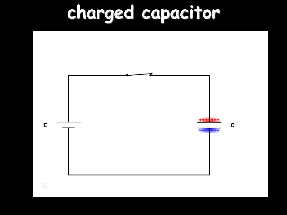 capacitor charge