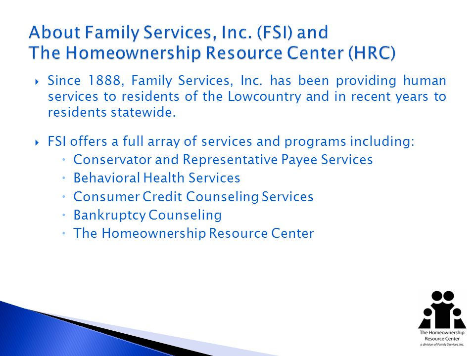 Since 1888, Family Services, Inc.