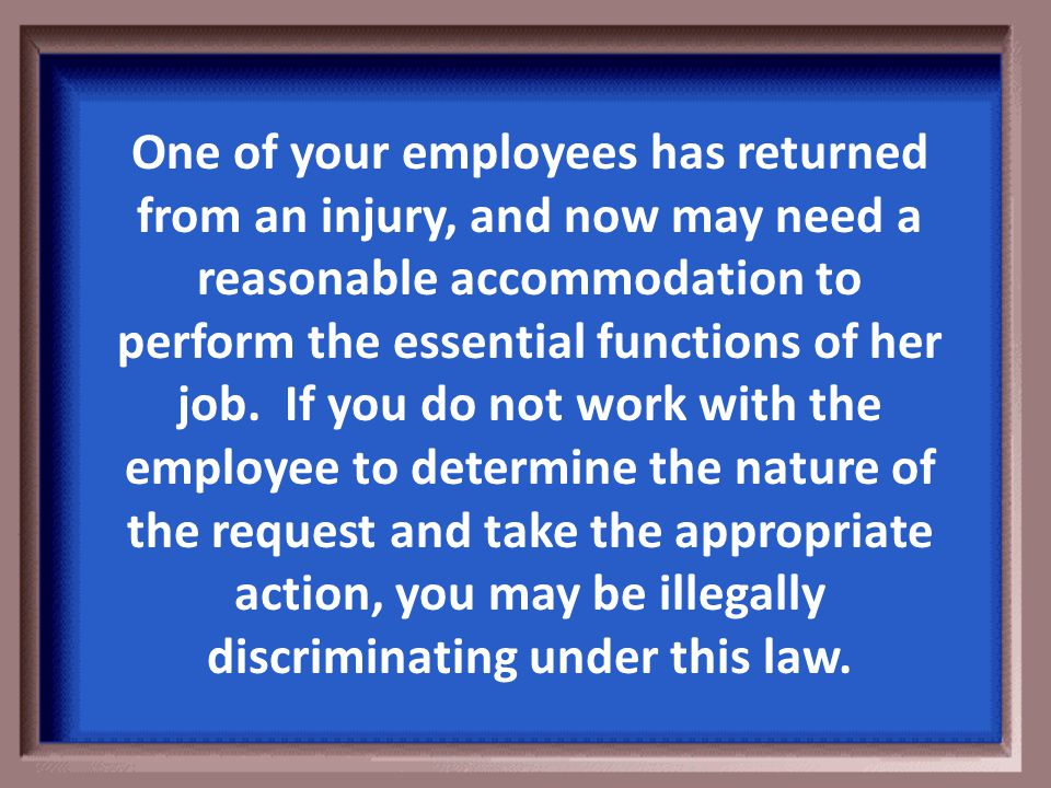 Return To Jeopardy (Collective Bargaining Agreement) Click the box!