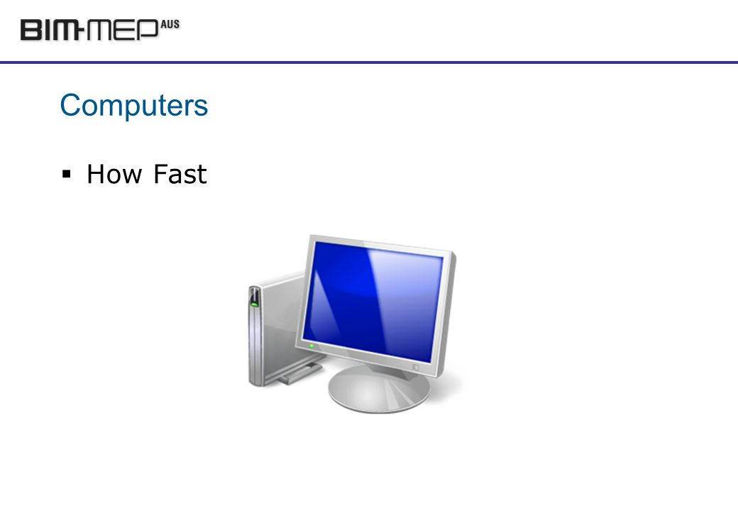 Computers How Fast