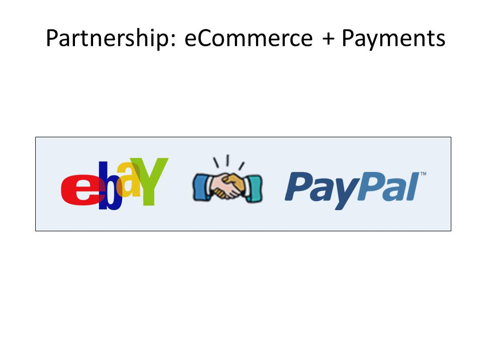 Partnership: eCommerce + Payments 62