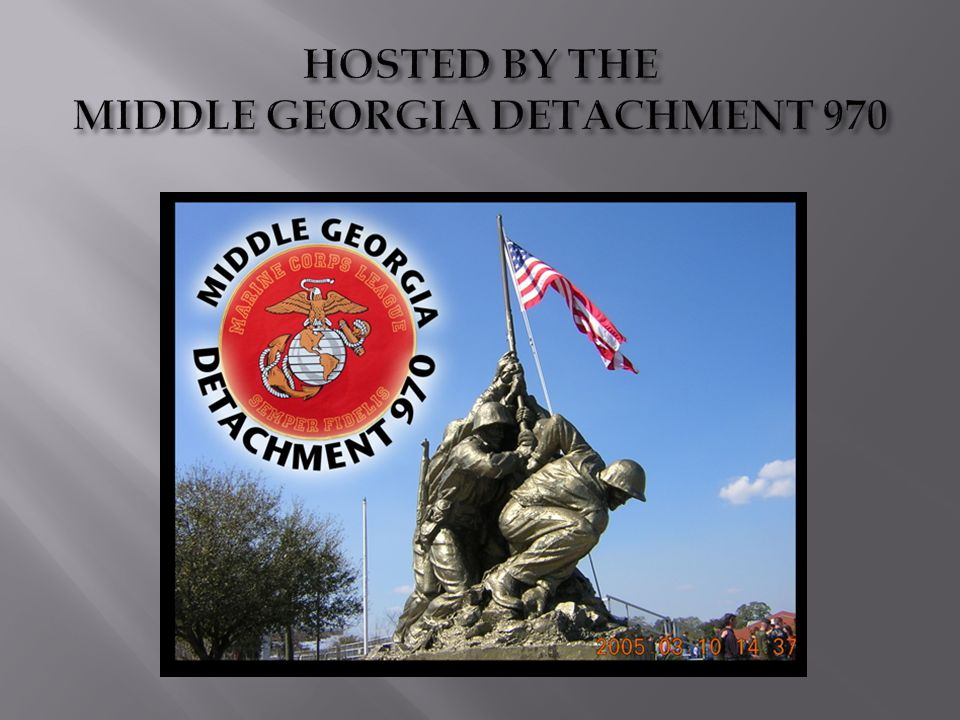 SEE YOU AT THE DEPARTMENT OF GEORGIA 22 nd ANNUAL CONVENTION May 24-26, 2013 Macon, GA.