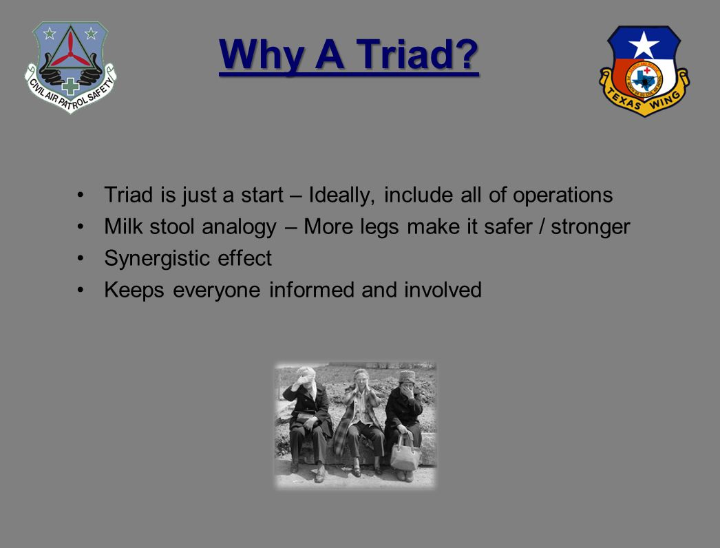 Why A Triad.