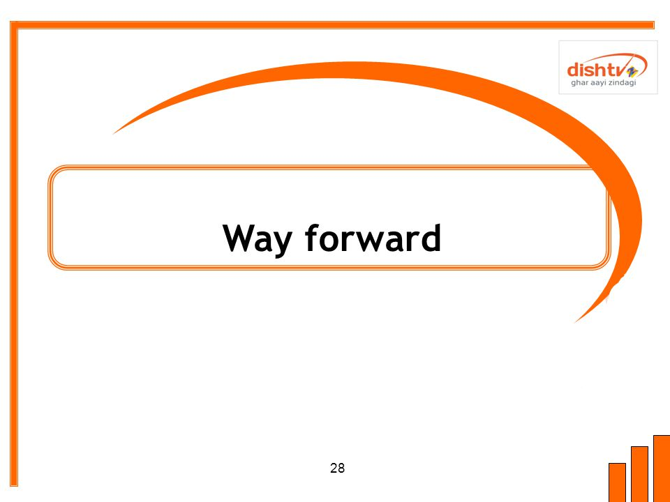 Way forward 28
