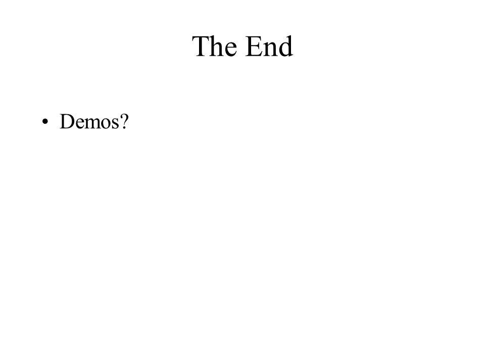 The End Demos?