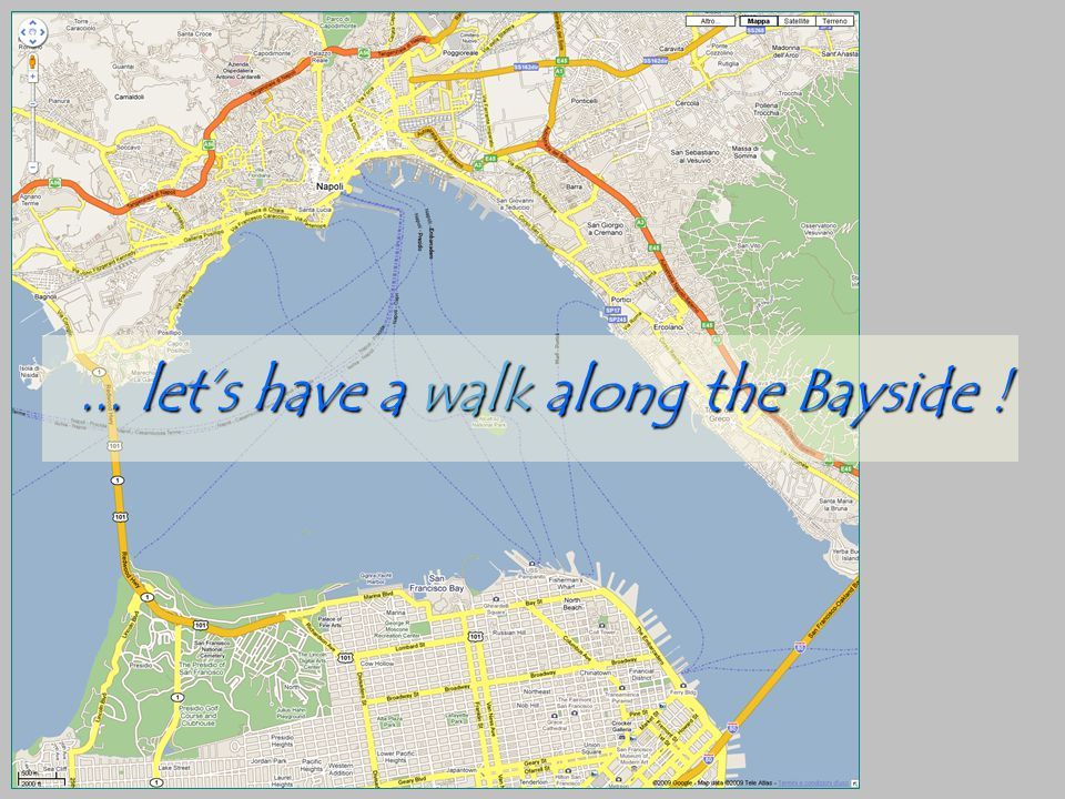 ... lets have a walk along the Bayside !