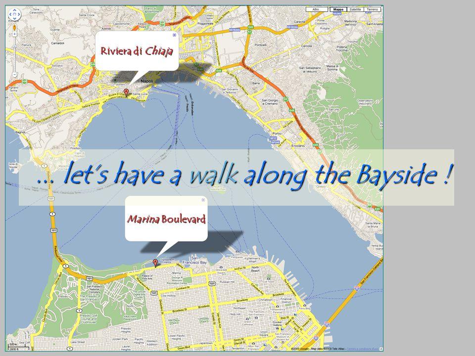 Riviera di Chiaja Marina Boulevard... lets have a walk along the Bayside !