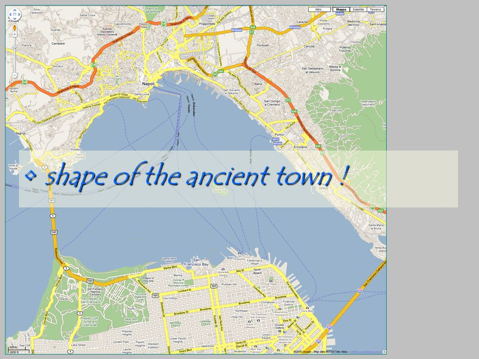 shape of the ancient town ! shape of the ancient town !