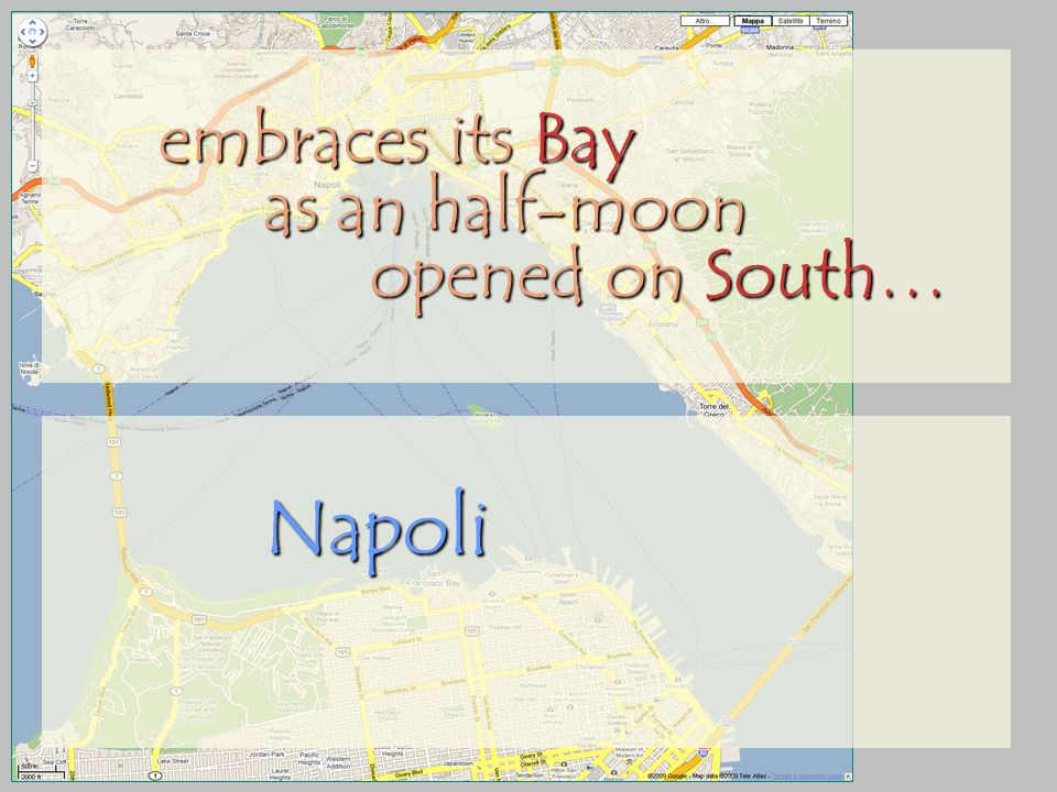 embraces its Bay as an half-moon opened on South… Napoli